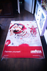 Lavazza By Erwin Olaff Style B 2002 4x6 Ft Original Vintage Advertising Poster