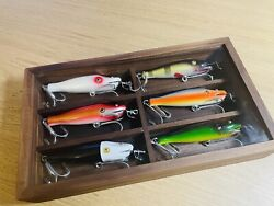 A Set Of Creek Chub 900 Series Pike Replica With Special Goldfish Fishing Lure