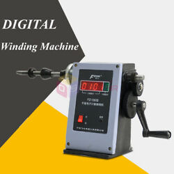 Electronic Digital Display Manual Hand Coil Winding Machine Winder Coiler 220v