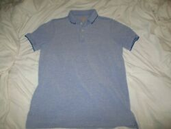 The Foundry Supply co. Blue Short Sleeve Polo Shirt Large Tall