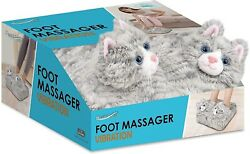 Health Touch Foot Massager, Cat Vibrating Pain Ache Soothing Cat Lady Tabby