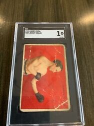 1912 T227 Johnny Coulon Series Of Champions Miners Extra Back Sgc 1
