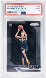 2018 Panini Prizm Michael Porter Jr. Rookie RC PSA 9 Qty Available $70.00