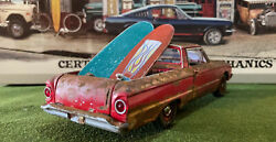 Barn Find Cars - Model Art 1/24 Scale 1960 Ford Ranchero - Aged And Rusted
