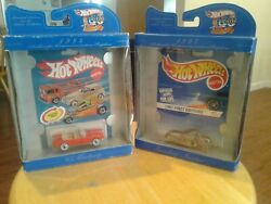 2 Hotwheels 30th Anniversary From 1998,65 Ford Mustang,scorhin Scooter