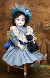 18 In 46cm Antique French Fg Gaultier Freres Bebe Doll C.1888
