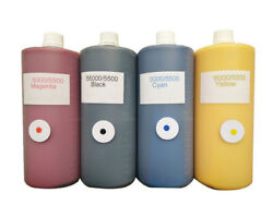 4x1000ml Orginal Comcolor Ink With Chipsfor Riso Comcolor Hc5500 5000 Printer