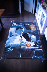 Glen Turner Montgomery Clift 1980and039s 4x6 Ft Original Vintage Advertising Poster