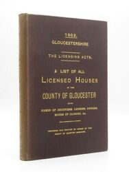 Licensing Actslist Of Licensed Houses In Gloucestershire 1903 Pubs/breweriana