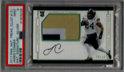 James Conner 2017 National Treasures Material Signature Silver  6 / 10