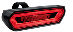 Rigid 90133 In Stock Rear Facing Chase Red Led Light