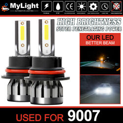 Mylight 9007 Hb5 Led Headlight Conversion Kit Hi/low Beam Bulb 6500k Super White