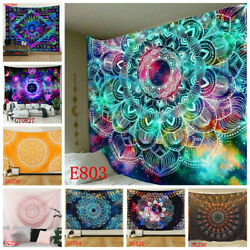 USA Ship Bohemian Mandala Tapestry Wall Hanging Hippie Tapestries Throws Decor