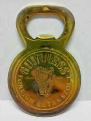 Vintage Guinness Foreign Extra Stout Beer Bottle Opener F/s B359