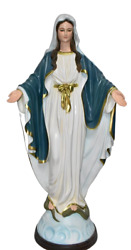 Our Lady Of Grace Blessed Virgin Mother Mary 33 Large Indoor And Outdoor Statue