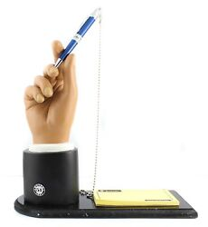 Retro 51 Dealers Hand Pen Display W/ Base And Test Pad - Rare