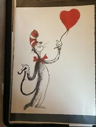 The Heart Balloon Valentineand039s Day Print By Mr Brainwag