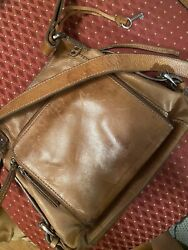 FOSSIL Leather Messenger Purse $55.00