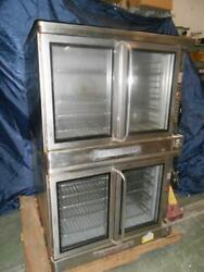 Blodgett Double Stack Convection Oven Ef-111 460v 3 Phase Tested