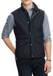 Polo Iconic Quilted Vest Black Menand039s Size Extra Large Xl New Nwt ⭐️