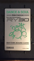 Yamaha Rhythm Sound Card Rsc3004 Dance And Soul With Jewel Case