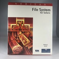 Veritas File System For Solaris 3.3.2 Product Number Md-fss1-1500-0 1998 Vintage