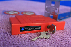 Genuine Nos Blaupunkt Sica Anti Theft Device/cassette+mounting Frame +stickers