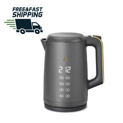 Beautiful 1.7l One-touch Electric Kettle Sage Green By Drew Barrymore