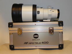 Minolta High Speed Af Apo 400mm F4.5 G Lens Used Good Product