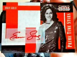 Erin Gray 2011 Panini Americana Autograph Card 21/99 Buck Rogers And Silver Spoons