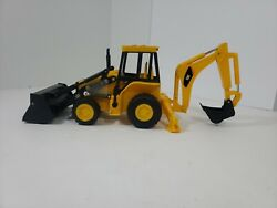 1995 Toy State Industrial Cat Caterpillar Tractor Bucket Moves Makes Soundsa4