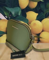 New STEVE MADDEN BMAGGIE CROSSBODY Women's LIME Handbag DT571120 $36.00
