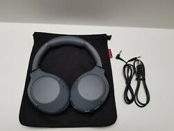 Sony Wh-xb900n Extra Bass Noise Canceling Wireless Headphones Whxb900n Gray