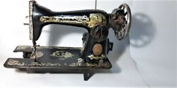 Merceds Sewing Machine Antique Old Vintage Black Best Quality Strong Andfoot Pedal
