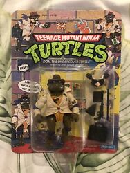Sealed Vintage Tmnt Don The Undercover Turtle Ninja Unpunched Donatello