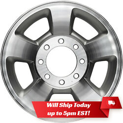 New Machined Silver 17 Alloy Wheel Rim For 2003-2010 Dodge Ram 2500 3500