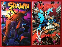 Spawn 2 And Violator 1⭐️nm+ / Vf+⭐ 2 Issue Lot⭐️1st Appearance Violator⭐️⭐️