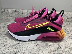 New Nike Gs 5.5y / Womenand039s 7 Air Max 2090 Shoes Active Fuchsia Cz7659-600