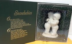 Department 56 Jack Frost Snowbabies I Need A Hug Angel Wings Babie With Box