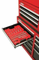 Craftsman Tool Cabinet With Drawer Liner Roll And Socket Organizer, 52-inch, 10 Dr