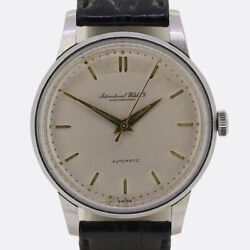 Vintage 1950s Automatic Gents Watch Stainless Steel