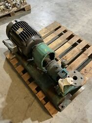 """Gould Pump And Baldor Motor 3"""" Inlet 1 1/2"""" Outlet 3500 Rpm 20 Hp"""