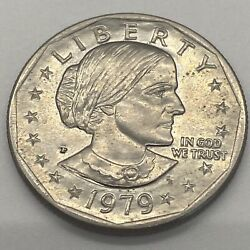 1979 Susan B Anthony 1 One Dollar Coin Ungraded/circulated 2