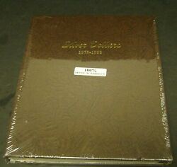 Dansco 7173 Silver Dollars Morgans Coin Album - 5 Pages 1878-1893 Sealed