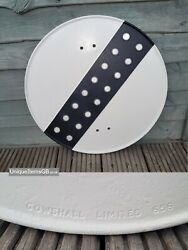 Pre-warboys Road Sign By Gowshall Limited 656 With Reflectors 18 Dia