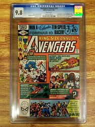 Avengers Annual 10 Cgc 9.8 White Pages Wp 1st Appearance Rogue And Madelyn Pryor