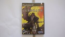 Gungrave Ps2 Playstation - New/sealed - Ships Worldwide