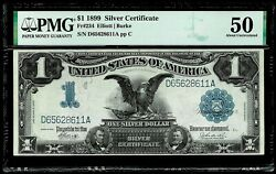 1899 Us 1 Silver Certificate Black Eagle Note Pmg About Unc 50 Fr 234