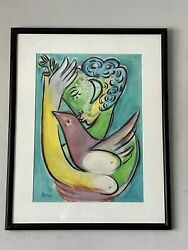 VINTAGE MODERN OIL PAINTING CUBIST ABSTRACT EXPRESSIONIST CHAGALL PICASSO