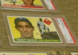 1955 Topps Sandy Koufax Rookie Rc 123 Psa 5 Ex Dodgers Vintage Investment Card